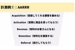 グロースハックのフレームワーク「AARRR」を知っていますか?